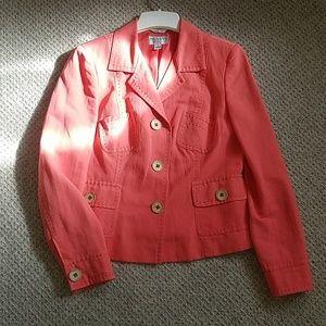 Talbots Collection Salmon Jacket